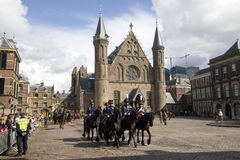 Binnenhof The Hague Royalty Free Stock Images
