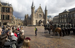 Binnenhof The Hague Royalty Free Stock Photo