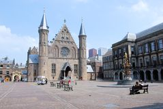 The Hague Binnenhof Inner Court centre of Dutch politics  Stock Image