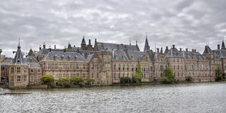 Binnenhof, The Hague, Holland. The political center of the Netherlands, Parliament buildings of the Binnenhof in The Hague, Holland Stock Photography