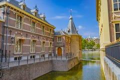 Binnenhof In The Hague In The Netherlands stock photo