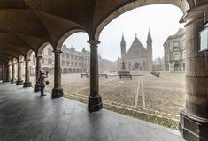 binnenhof hague ridderzaal стоковые фотографии rf