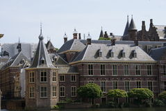 The Binnenhof of the Haque Royalty Free Stock Photo