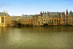 The Binnenhof (Inner Court) is a complex of buildings in the cit Stock Photos