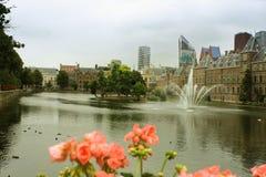 Binnenhof jest kompleksem budynki w centrum miasta Th Zdjęcie Stock
