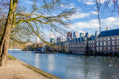 BinnenHof lake in Den Haag Stock Photo