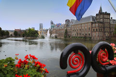 Binnenhof pałac, Haga, holandie Zdjęcie Royalty Free