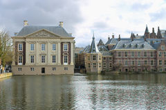 Binnenhof Palace in Den Haag. Netherlands. Dutch Parlament buildings Stock Image