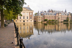 Binnenhof Palace in Den Haag Stock Photo