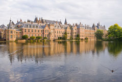 Binnenhof Palace in Den Haag Stock Photos