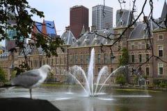 Binnenhof Palace, Dutch Parlament in the Hague, Netherlands Stock Photos