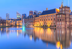 Binnenhof Palace in The Hague (Den Haag) Stock Photo