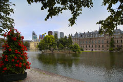 Binnenhof Palace in the Hague, Netherlands Stock Image