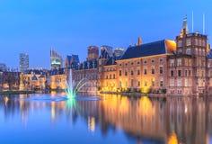 Binnenhof Palace in The Hague (Den Haag) Royalty Free Stock Photo