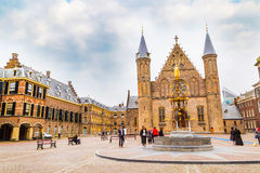 Binnenhof palace, place of dutch parliament in Hague, Holland Stock Images