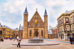 Binnenhof palace, place of dutch parliament in Hague, Holland Royalty Free Stock Image