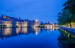 Binnenhof palace, place of Parliament in The Hague, Netherlands Stock Photos