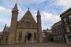 Binnenhof Palace, Ridderzaal. The Hague, Netherlands Stock Images