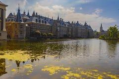 Binnenhof Ridderzaal à la Haye aux Pays-Bas photo libre de droits