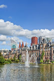Binnenhof, seat of Dutch government, The Hague, Netherlands royalty free stock photography