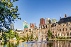 Binnenhof and skyline in The Hague Stock Photos