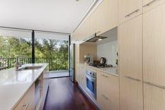 Binnenhuisarchitectuur van een woonkamer Stock Foto's