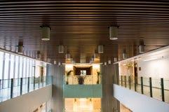 Binnenhuisarchitectuur van gebouwen Stock Foto