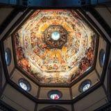 Binnenkathedraaldi Santa Maria del Fiore, Florence stock foto