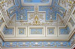 Binnenland 3 van het paleis Stock Foto's