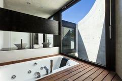 Binnenland, badkamers royalty-vrije stock foto