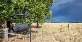 Binnenland in Dubbo Australië Stock Foto