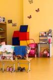 Binnenland in een kleuterschool Royalty-vrije Stock Foto's