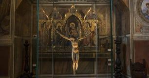 Binnenland en details van Bargello, Florence, Italië Stock Afbeelding