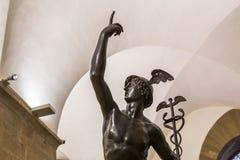Binnenland en details van Bargello, Florence, Italië Royalty-vrije Stock Foto's