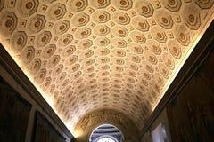 Binnenland en details van het museum van Vatikaan, de stad van Vatikaan Royalty-vrije Stock Foto