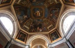 Binnenland en details van het museum van Vatikaan, de stad van Vatikaan Royalty-vrije Stock Foto's