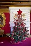 Binnenland in het kasteel Shenonceau Royalty-vrije Stock Foto