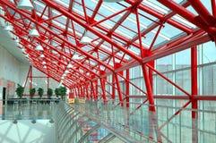 Binnenland het moderne bureaugebouw Stock Foto