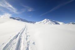 Binnenland het ski?en Stock Fotografie