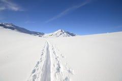 Binnenland het ski?en Royalty-vrije Stock Afbeelding