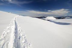 Binnenland het ski?en Stock Afbeelding