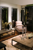 Binnenland in klassieke stijl stock afbeeldingen