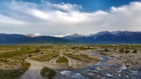 Binnenland in Nieuw Zeeland royalty-vrije stock afbeelding