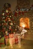 Binnenland op de vooravond van Kerstmis royalty-vrije stock foto