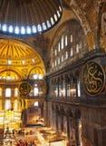Binnenland van Aya Sofya & x28; Hagia Sofia& x29; Stock Fotografie