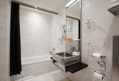 Binnenland van badruimte Stock Afbeelding