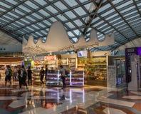 Binnenland van Bangkok Suvarnabhumi BKK royalty-vrije stock afbeelding