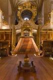 Binnenland van beroemd Yuso-klooster in San Millan DE La Cogolla stock afbeeldingen