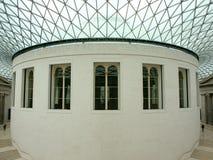 Binnenland van British Museum Royalty-vrije Stock Afbeeldingen