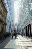 Binnenland van Brookfield Place in Toronto Van de binnenstad Stock Afbeelding
